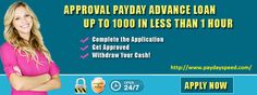 www.paydayspeed.com is transient credits. One truly grand normal for crisis cash money related advances that does not need to vow any benefit towards bank for the advance. The moneylender does not so much request any security or insurance. For More- http://www.paydayspeed.com/
