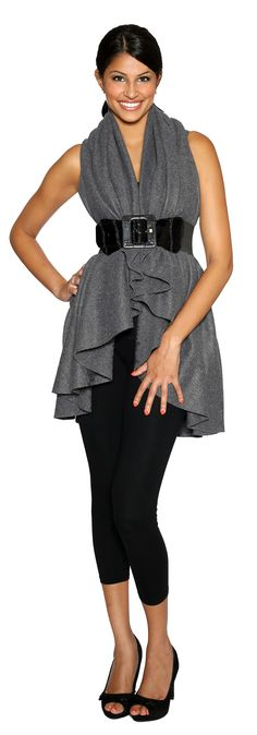 Cinch Look. -Be a Dawl and check us out! www.Facebook.com/ShawlDawls
