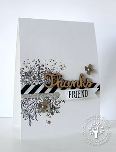 Love for Stamping, Thick Whisper White Cardstock, Awesomely Artistic, Expressions Natural Elements