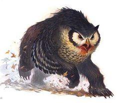 Owl bear.