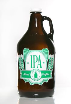 Haus Of Growlers/Southern Herd, IPA, Hand Crafted, Craft Beer, Growler, 64 oz. growler Pictures by @booosborn