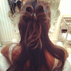 How cute! Hair bow