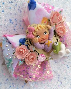 Shine princesa baby rapunzel rosa Rapunzel, Balerina, Baby Headbands, Abundance, Princess Peach, Polymer Clay, Head Bands, Fascinators, Costumes