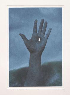 smokethereisfire:  René Magritte, 1975