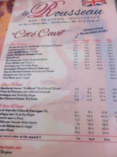 cafe bastille lunch menu