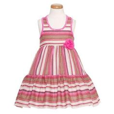 NWT Gymboree Family Brunch Stripe Dress Toddler Girls 2T,3T,4T Easter wedding