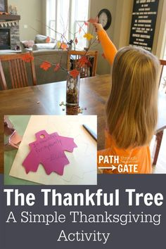 "This craft is so easy, but turned out so cute! I love Thanksgiving crafts that encourage thankfulness – the true reason for celebrating Thanksgiving. (By the way, allow me to digress into a pet peeve for a moment. Can we all fight this trend to call Thanksgiving ""Turkey Day""? Thanksgiving is so much more than […]"