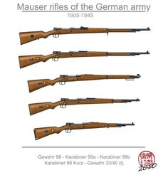 431 отметок «Нравится», 9 комментариев — Military History Stories (@militaryhistory) в Instagram: «Home for the Holidays! --------- The Mauser Family!  This post will be split in two, with the…»