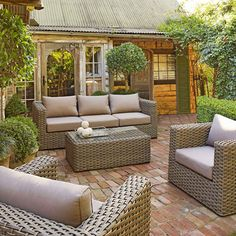 Nevada 4-Piece Loung Suite from Domayne