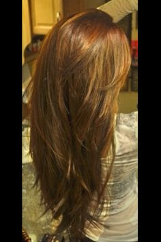 My Ideal Long-Layered Hair & Hair Color Hair Day, New Hair, Haircut For Thick Hair, Haircut Long, Thick Haircuts, Straight Hairstyles, Pixie Haircuts, Trendy Haircuts, Great Hair