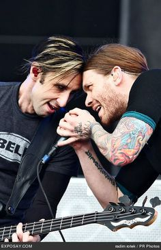 Eric & Brent #Shinedown