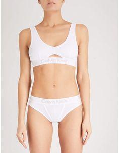 056bb7760424c Calvin Klein Body cotton-jersey bralette