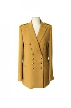 Double Ranks Buttons Slim Yellow Suit [NCSUQ0006] - $83.99 : - StyleSays