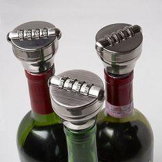 Combination Lock Bottle Stop