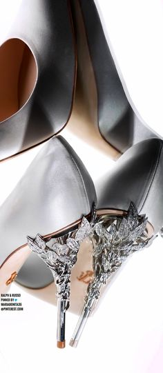 Ralph & Russo Ralph And Russo, Designer Heels, Kitten Heels, Flats, Beautiful, Shoes, Fashion, Loafers & Slip Ons, Moda