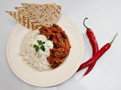 Chili con carne Risotto, Ethnic Recipes, Food, Chili Con Carne, Essen, Meals, Yemek, Eten
