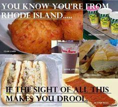 ❤️   Rhode Island Foods    #VisitRhodeIsland