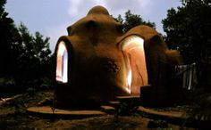 Tribewanted, John Obey Beach, Sierra Leone, Africa: Night falls on an Earth Dome (Image: © Tribewanted)