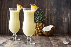 Everything you love about a pina colada - minus the alcohol! Relax and enjoy the familiar fruity flavors that the whole family can enjoy. Blue Hawaiian, Sparkling Punch, New York Sour, Sweet Tea Recipes, Imperial Sugar, Low Carb Cheesecake Recipe, Pink Food Coloring, Mojito Recipe, Vanilla Yogurt