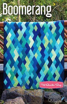 Boomerang Quilt Pattern Jaybird Quilts