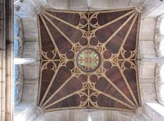 Tower ceiling, St Laurence Church, Ludlow UK