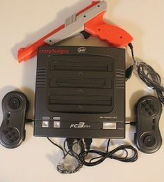 FC3 Plus 3in1 Game System Console for Nintendo NES/SNES,Sega Genesis Games +Gun #YoboGameware