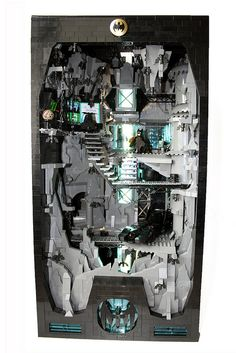 Lego Batman Batcave; Orion Pax