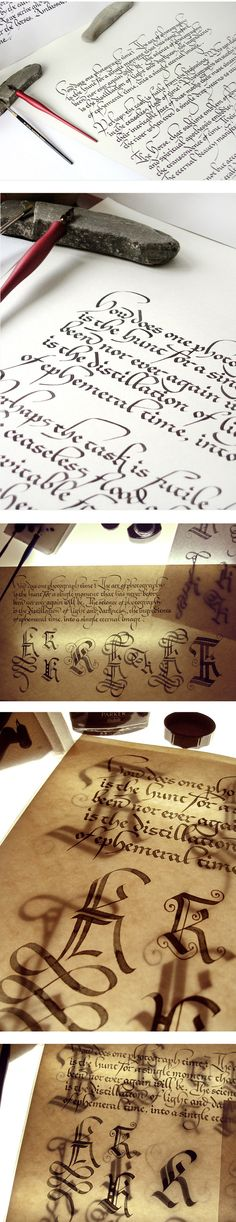 calligraphy by marina m