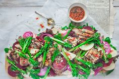 This is a great dish for healthy summer entertaining and is perfect for lunch or dinner. It's great for the BBQ or cooked indoors in a griddle pan and is an easy, healthy take on Chinese-inspired flavour combinations.