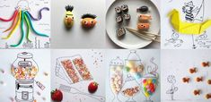 Blumen-Kunstwerk aus PET-Flaschen-Böden - einfacher als das Ergebnis vermuten lässt! Food Art For Kids, Crafts For Kids, Buffet, Flower Artwork, Pet Bottle, Class Projects, Christmas Tree, Fruit, Flowers