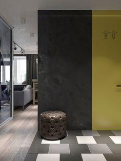 лофт  в ремонт студии стиле