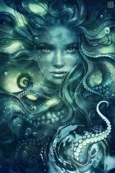 56 Ideas Tattoo Mermaid Dark Fantasy Art For 2019 Dark Fantasy Art, Fantasy Artwork, Dark Art, Mermaid Artwork, Mermaid Drawings, Mermaid Tattoos, Realistic Mermaid Drawing, Mermaid Paintings, Fantasy Creatures