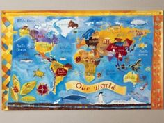 I really like this map--from The Land of Nod...Unfortunately their website is under construction...I will have to check back later!