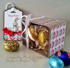 Stampinantics: JUST ADD EASTER BAGS, BOX OR BASKETS