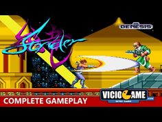 Strider (Mega Drive) Complete Gameplay: http://wp.me/p90oS-Pe #viciogame