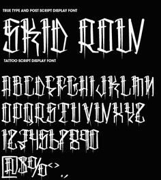 Some fonts...