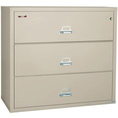 Hon 3 Drawer Lateral File Cabinet