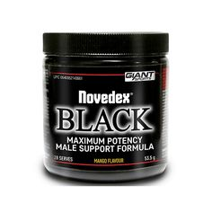 Giant Sports Novedex Black - Second To None Nutrition Testosterone Production, Testosterone Booster, Nutrition, Sports, Black, Hs Sports, Black People, Sport