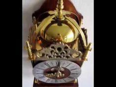 ▶ Warmink Vintage Dutch 8 Day Striking To Bell Lantern Clock For Sale On eBay UK - YouTube