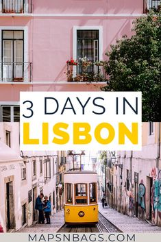 3 days in Lisbon itinerary Portugal - - Check out the best things to do in Lisbon in 3 days! This is a complete guide for first-time visitors of the Portuguese capital. Including tips on where to eat, to go, & to stay. Check it out! China Travel Guide, Portugal Travel Guide, Europe Travel Guide, Portugal Vacation, Portugal Trip, Travel Destinations, Visit Portugal, Spain And Portugal, Algarve