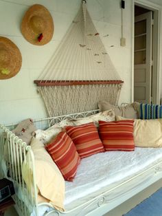 MRP Design Studio - what a great way to store the hammock!