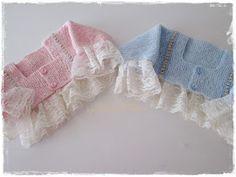 La Casa de la Mami - Especial Canastilla: Chaquetas lenceras combinadas con algodón egipcio y angora