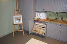 Creative arts storage for Watts Gallery, Guildford Art Storage, Joinery, Creative Art, Commercial, Gallery, Home Decor, Creative Artwork, Homemade Home Decor, Woodworking