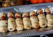Healthy Halloween Food Ideas mummies 210x150 Healthy Halloween Food Ideas