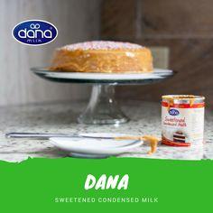 DANA Sweetened Condensed Milk,  Make you next cake with Dana SCM.  Enjoy the wonderful tast of milk.