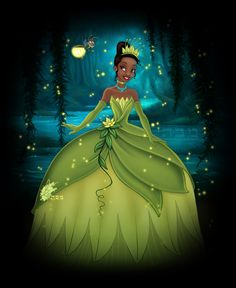This is the princess named after me we just have our names spelt in different ways.  For me its TyAnna and he it's Tiana.