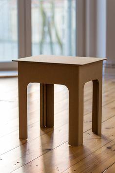 tisch tabula rasa pappe wohnen und basteln. Black Bedroom Furniture Sets. Home Design Ideas