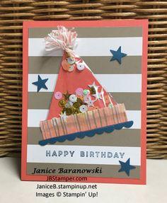 Birthday Greetings paper pumpkin, JB Stamper | Just Bee-ing Creative!