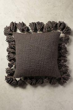 Knitted Tassel Pillow - anthropologie.com