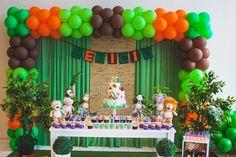 festa na selva decoracao - Buscar con Google